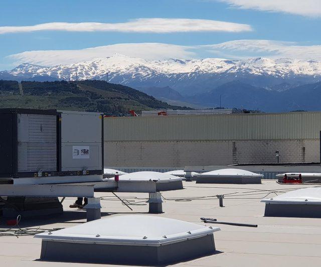 Sustitución de 49 Máquinas Rooftop en dos meses por toda España